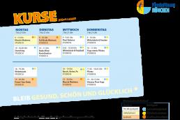 PhysioFitness München Kursplan ab Juli 2021